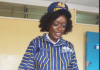 A Zambian customs officer dressed in the new customs' uniform. The new uniform has caused unprecedented online frenzy