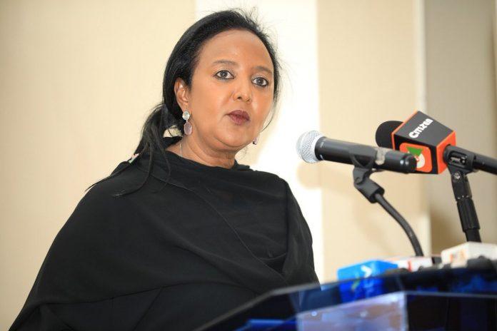 Education Cabinet Secretary, Dr Amina Mohammed
