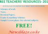 Free teachers' resources