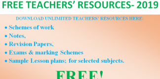 Free teachers' resources