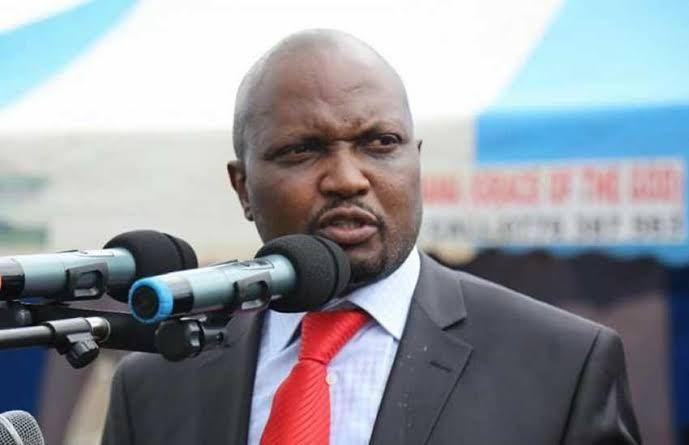 Gatundu South member of Parliament, Moses Kuria.