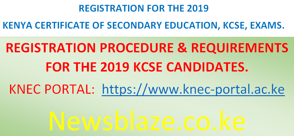 KNEC releases 2019 KCSE project/ practical based subjects
