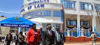 Kenyatta University buliding.