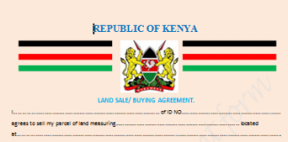 Land sale agreement form 1