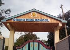 Orero High school in Nyanza