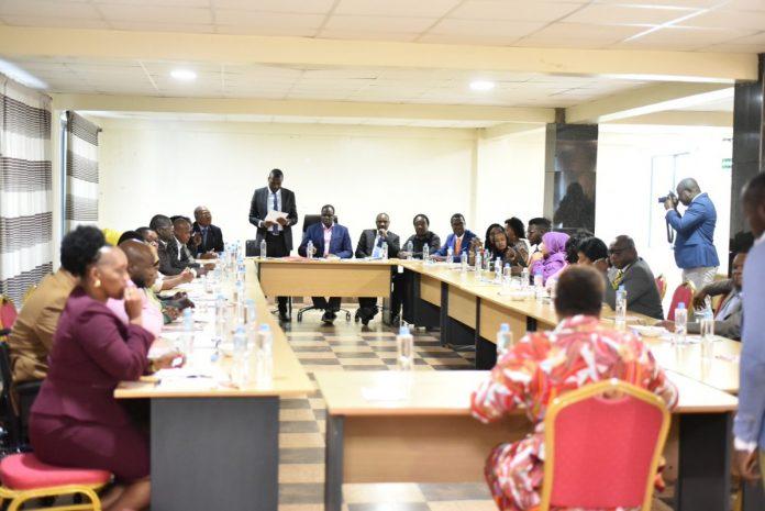 Photo from today's Orange Democratic Movement NEC meeting
