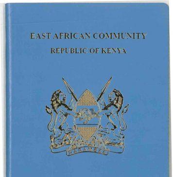 The New Epassport for Kenyans.