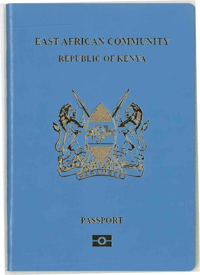 The New Epassport for Kenyans.