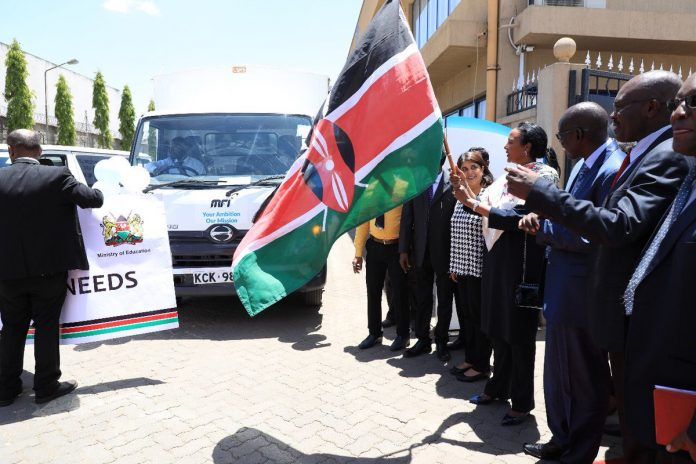 Education CS when she Dispatched 21,987 Early Grade Mathematics Books adapted for learners with hearing impairment, total blindness, physical impairment&low vision to support the delivery of the CBC in Grades 1&2. The government has recorded Kshs. 5B savings through direct to school textbook supply. The CS has announced that there will be a massive crackdown on all HELB loans' defaulters.