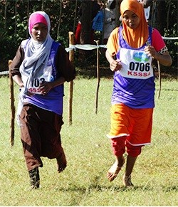 File photo- Students participate at a past KSSSA Cross Country championship. The Ministry of Education is introduced a number of changes to Co- curricular activities this year.