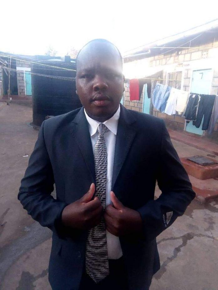 The late Musonick, a teacher at Uhuru Secondary School. He together with wife, Mercy, perished at the Kericho- Nakuru accident that occurred on Friday evening.