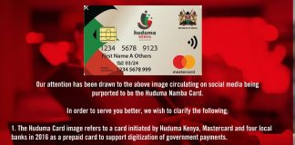Huduma number Registration, NIIMS