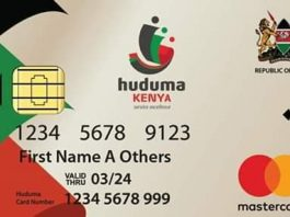 Huduma number Registration, NIIMS Card