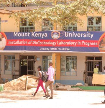 Mount Kenya University, MKU, premises