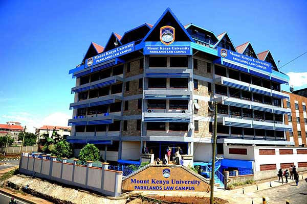 Mount Kenyatta University courses, requirements, application