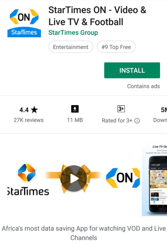 How to link your StarTimes Decoder to your mobile phone