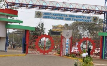 Photo- JKUAT main campus in Juja. The university got the highest admissions of new students in 2019.