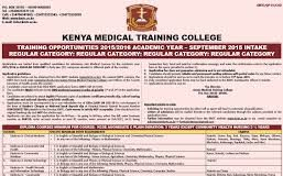 Kenya Medical Training College, KMTC; Fees, Campuses, Courses, application requirements and procedure plus a list of all required documents