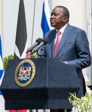 Photo/File- HE Uhuru Muigai Kenyatta. President of the Republic of Kenya.