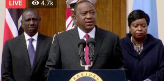 Photo/ File- President Uhuru Kenyatta at a past function.