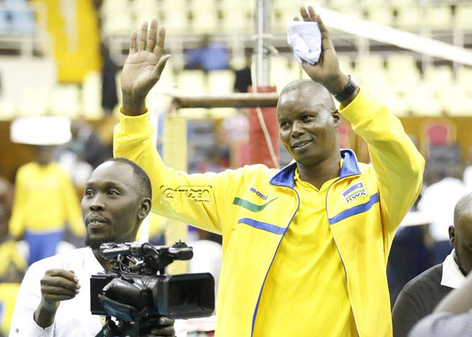 Photo/ File- Paul Bitok. He has been appointed to head the Kenya Women's volleyball team; Malkia Strikers