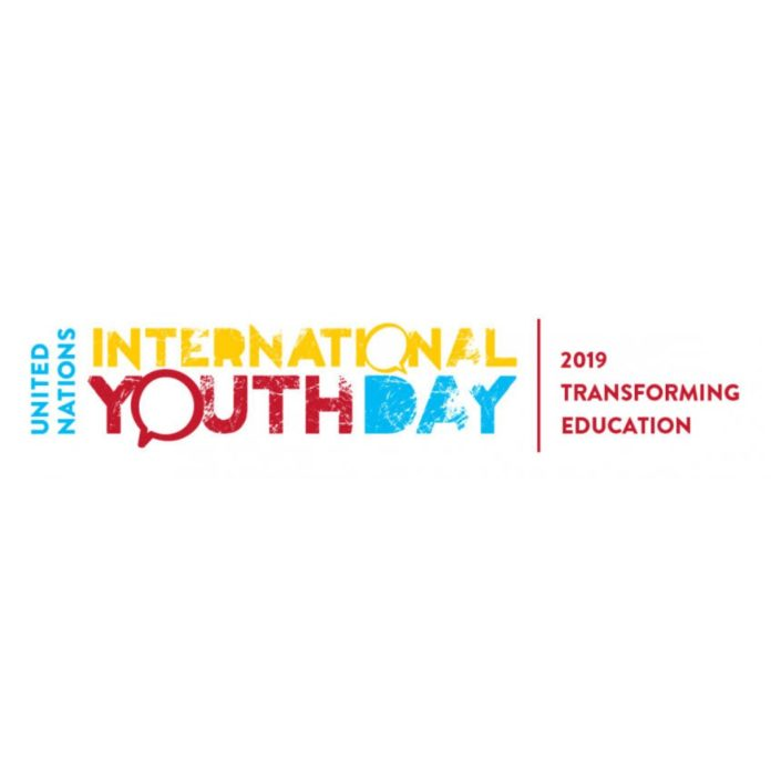 The international youth day celebrations; Theme and details