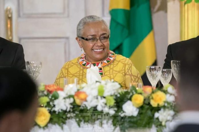 Kenya's First Lady Margaret Kenyatta at a past function.