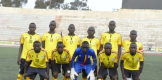 Uganda Under 15 soccer team at the 2019 CECAFA finals