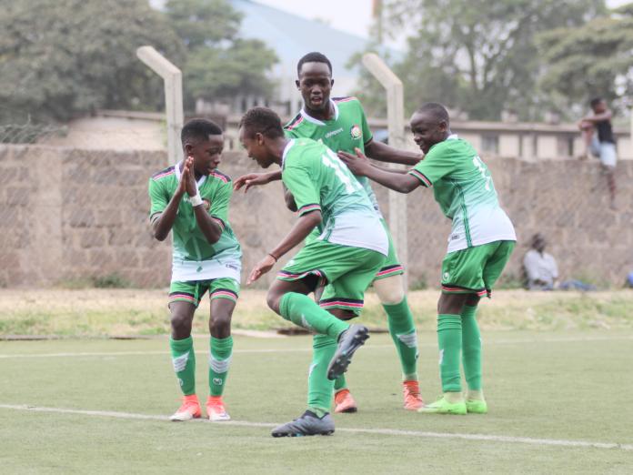 Photo- Kenya's U15 Soccer team, Harambee Stars Junior Players.