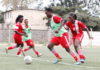 Image- Kenya's Harambee Starlets players at a training session.