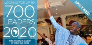 The 2020 Mandela Washington Fellowship