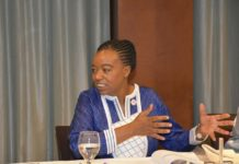 Amb. Monica Juma who is the Cabinet Secretary, Ministry of Foreign Affairs- Kenya