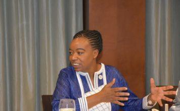 Amb. Monica Juma who is the Cabinet Secretary, Ministry of Foreign Affairs- Kenya