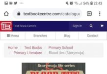 The contentious textbook 'Blood Ties (Story Moja)' deemed to be having vulgar content
