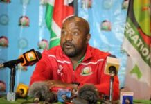 Harambee Stars Coach Francis Kimanzi