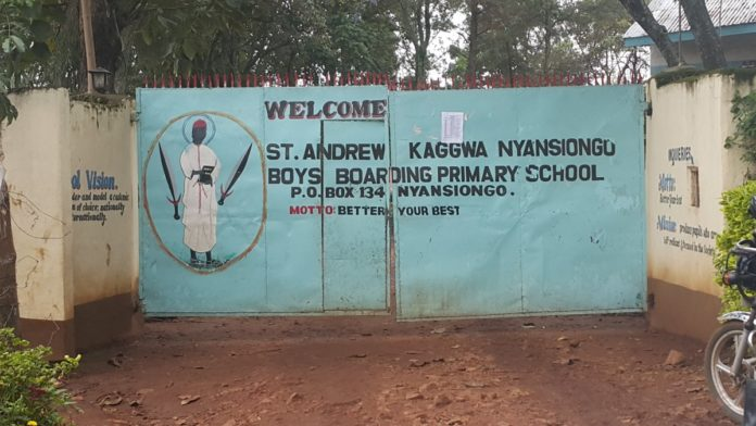 Primary schools in Nyamira County; School name, Sub County location, number of Learners