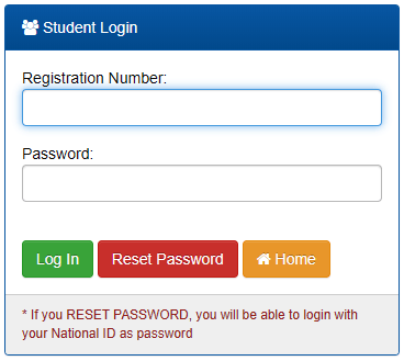 How to Log in to Dedan Kimathi University Students Portal online, for Registration, E-Learning, Hostel Booking, Fees, Courses and Exam Results
