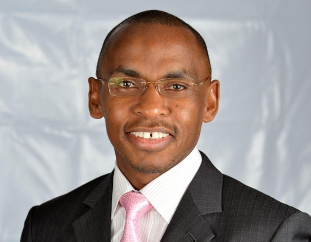 New Safaricom CEO Mr Peter Ndegwa.