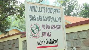 Immaculate Conception Boys Extra County Secondary School in Trans Nzoia County; School KNEC Code, Type, Cluster, and Category