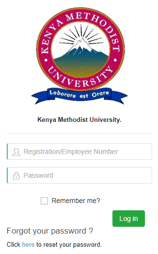 How to Log in to Kenya Methodist University Students Portal online, for Registration, E-Learning, Hostel Booking, Fees, Courses and Exam Results