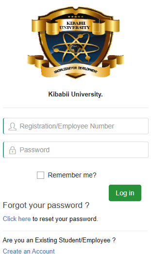 How to Log in to Kibabii University Students Portal online, https://portal.kibu.ac.ke/, for Registration, E-Learning, Hostel Booking, Fees, Courses and Exam Results