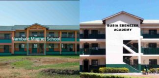 Primary schools in Busia County; School name, Sub County location, number of Learners