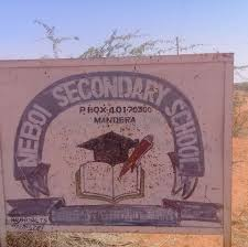 County Secondary Schools in Mandera County; School KNEC Code, Type, Cluster, and Category