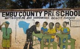 All Primary schools in Embu County; School name, Sub County location, number of LearnersAll Primary schools in Embu County; School name, Sub County location, number of Learners