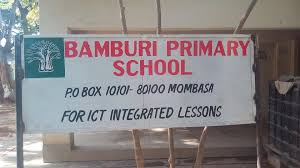 Primary schools in Mombasa County; School name, Sub County location, number of Learners