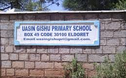 Primary schools in Uasin Gishu County; School name, Sub County location, number of Learners