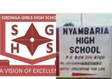 Full list of Sub County Secondary Schools in Nyamira County; School KNEC Code, Type, Cluster, and Category.