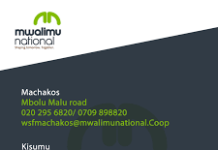 Mwalimu National SACCO, Mwalimu Mashinani, Agency Banking, Mobile loans and App; How to apply for loans via phone