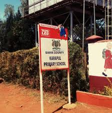 Primary schools in Siaya County; School name, Sub County location, number of Learners