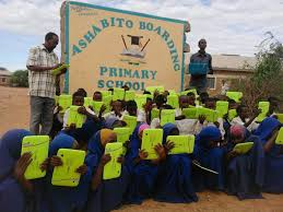 Primary schools in Wajir County; School name, Sub County location, number of Learners